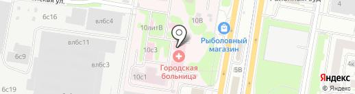 НОВОМОСКОВСКОЕ на карте Щербинки