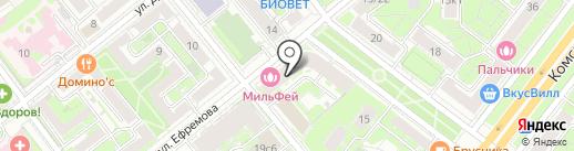 РЕСТАВРАЦИЯ Н на карте Москвы