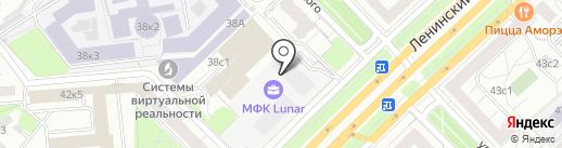 Формат на карте Москвы
