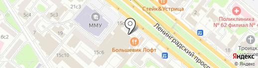 Родная речь на карте Москвы