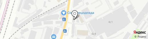 Авангард-декинг на карте Подольска