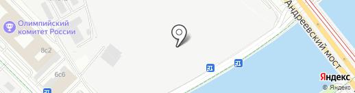 Тельняшка на карте Москвы