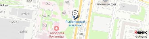 Федерация любви на карте Щербинки