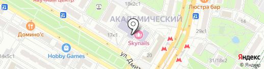 Максистрой на карте Москвы