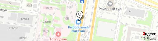 Pizza express на карте Щербинки