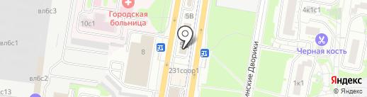 Спектор-01 на карте Щербинки
