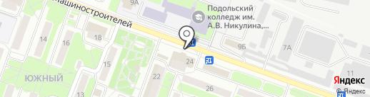 Маринка на карте Подольска