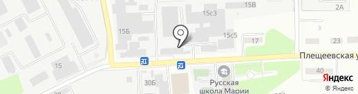Цемогнеупор на карте Подольска