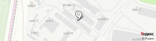 ПАЛС на карте Москвы