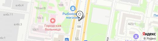 Автомойка на карте Щербинки