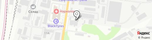 УмеровЪ на карте Подольска