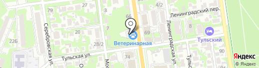 Неовет на карте Тулы