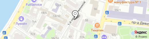 Аида на карте Москвы
