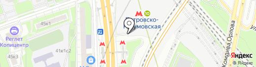 ШинДоктор на карте Москвы