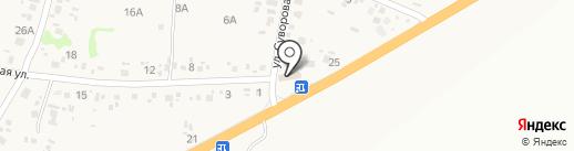 Автомир 3 на карте Новороссийска