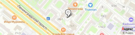 Око Гора на карте Москвы