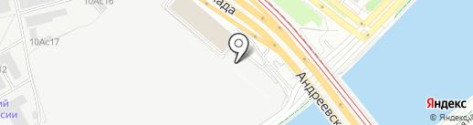 Электровек Сталь на карте Москвы