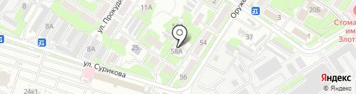 Ofic-mebel на карте Тулы