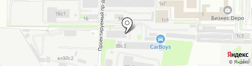 Специальная Информационная Служба на карте Москвы