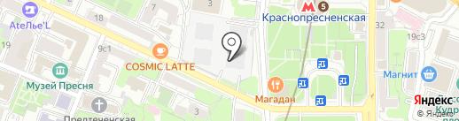 WantResult на карте Москвы