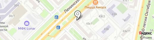 IRobot на карте Москвы