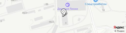 ГудБетон на карте Подольска