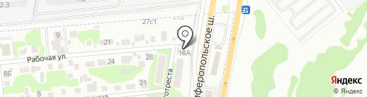 ДОК-АВТО на карте Щербинки