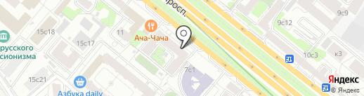 Урал-Минерал на карте Москвы