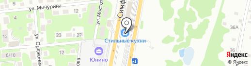 Стильные кухни на карте Щербинки