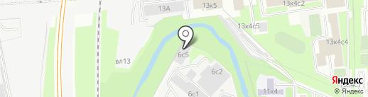 МосРитуалСервис на карте Москвы