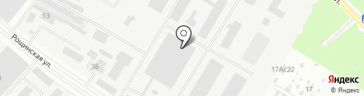 ФЭМП-строй на карте Подольска