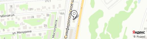 Автосервис на карте Щербинки