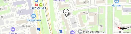Большая Семья на карте Москвы