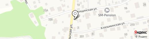 Универсам №5 на карте Троицкого