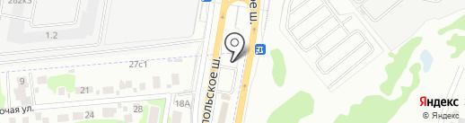 Платежный терминал на карте Щербинки