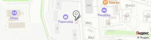 МедЭксперт на карте Москвы