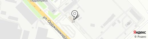 СП-Метиз на карте Подольска
