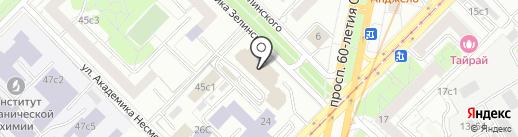 Нефтегазмонтажсервис на карте Москвы