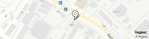 Аврора на карте Подольска