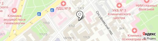 ИнтеграЦентр на карте Москвы