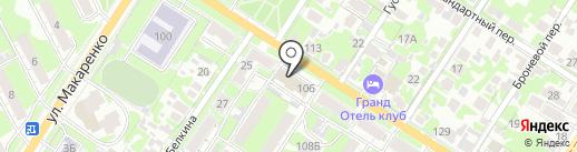 СТРОЙГРУПП на карте Тулы