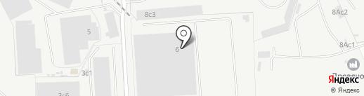Унистеп на карте Подольска