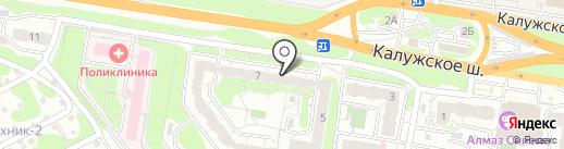Грузопереезд71 на карте Тулы