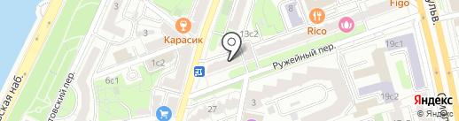 Дар жизни на карте Москвы