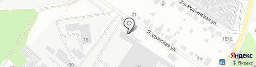 Стройтехника, ЗАО на карте Подольска