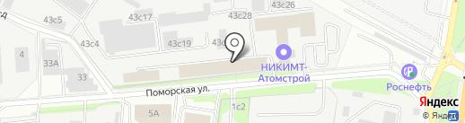 Санкаб на карте Москвы