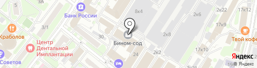 Connectum на карте Москвы