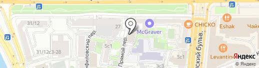 Изифай на карте Москвы