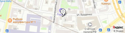 Stone style на карте Москвы