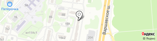 СтройАльянс-М на карте Москвы